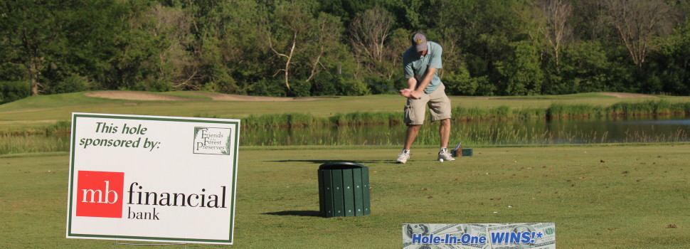 MB Financial sponsored our Hole-in-One at our annual Golf Outing, the Swing for Sustainability Open.