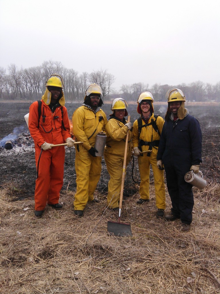 Calumet Invasive Species Conservation Crew 2014