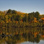 Runner up: Fisherman kayaking, Busse Woods near Elk Grove Village, Bob Kuraczek