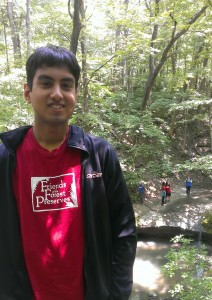Haider Baig, Chicago Conservation Leadership Corps Little Red Schoolhouse Crew Member