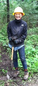 Jenny Kulb, Chicago Conservation Leadership Corps River Trails Assistant Crew Leader