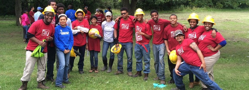 Chicago Conservation Leadership Corps, Whistler Woods Crew