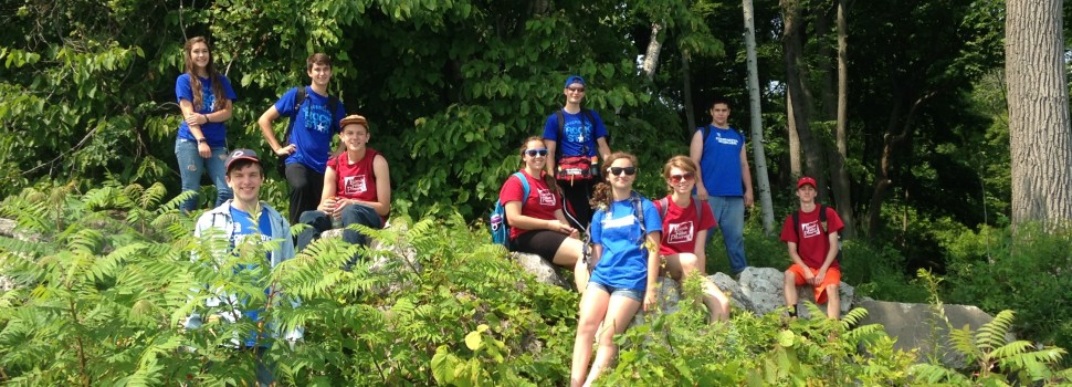 Chicago Conservation Leadership Corps: Crabtree Nature Center crew