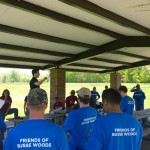 Komatsu Corporate Workday on May 21, 2014 at Busse Woods.