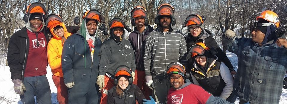 Rico Harris joins Friends of the Forest Preserves as the newest member of the Forest Preserve Leadership Corps.